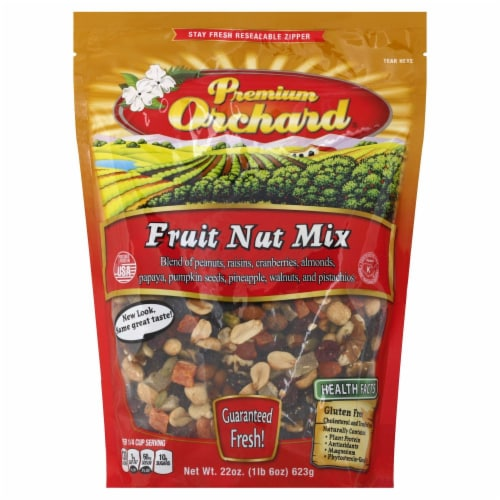 Premium Orchard Fruit Nut Mix Perspective: front