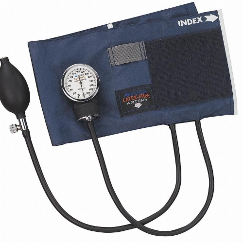 Mabis Aneroid Sphygmomanometer,Adult,Thigh Perspective: front