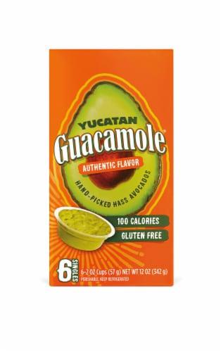 Yucatan Authentic Guacamole Singles Perspective: front
