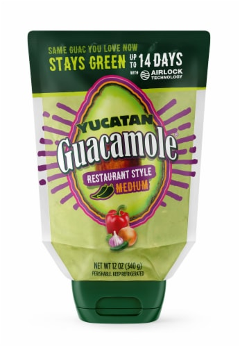 Yucatan Guacamole Restaurant Style Squeeze Perspective: front