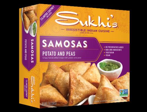 Sukhi's Potato and Peas Samosas Perspective: front