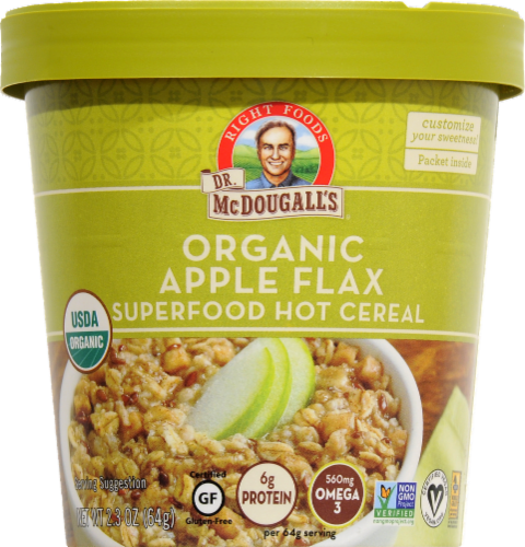 Dr. McDougall's Apple Flax Granola Perspective: front