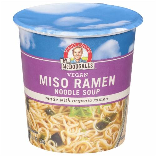 Dr. McDougall's Vegan Miso Ramen With Organic Ramen Perspective: front