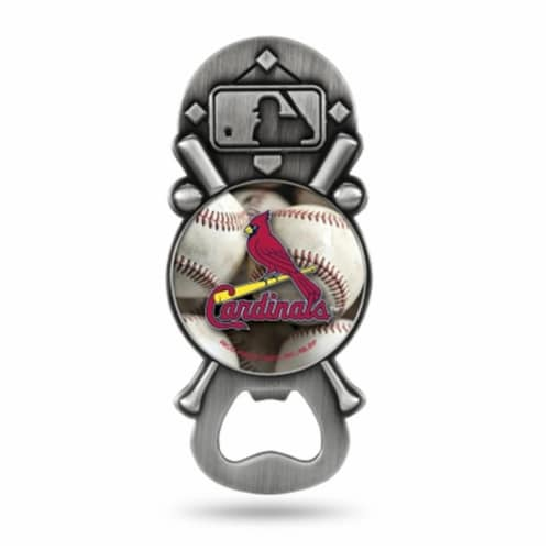 St. Louis Cardinals Bottle Opener Party Starter Style Perspective: front