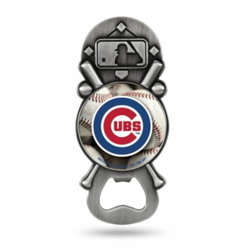 Chicago Cubs Bottle Opener Party Starter Style Perspective: front