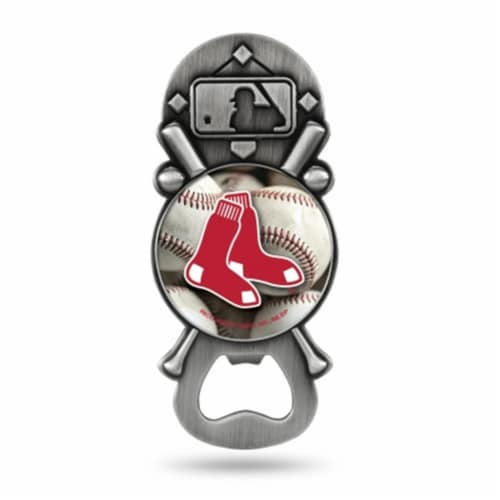 Boston Red Sox Bottle Opener Party Starter Style Perspective: front