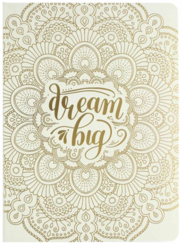 Paper House Life Organized Dream Big Soft Cover Journal Perspective: front