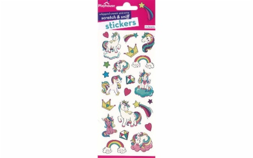 Paper House Sticker Scent Whipped Cream Unicorn Perspective: front