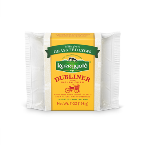 Kerrygold Irish Dubliner Cheese Perspective: front