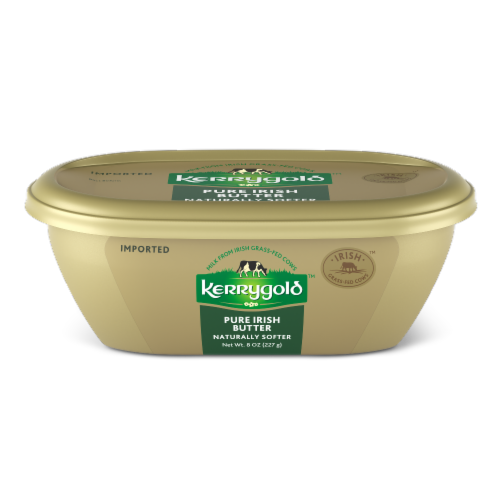 Kerrygold Naturally Softer Pure Irish Butter Perspective: front