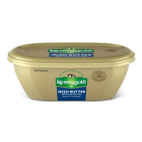 Kerrygold Irish Butter with Olive Oil Perspective: front