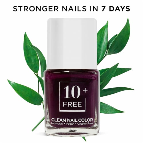 10FREE Polish+Nail Growth Serum STRONGER NAILS IN 7 DAYS - UP TO SNOW GOOD Perspective: front