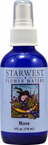 Starwest Botanicals  Flower Waters Rose Perspective: front