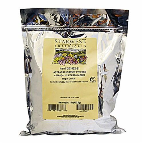 Starwest Botanicals  Astragalus Root Powder Perspective: front