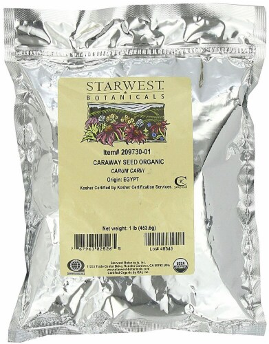Starwest Botanicals  Organic Caraway Seed Perspective: front