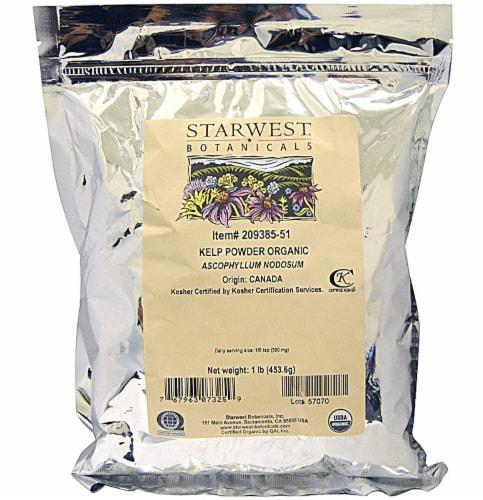 Starwest Botanicals   Powder    Organic Kelp Powder Perspective: front