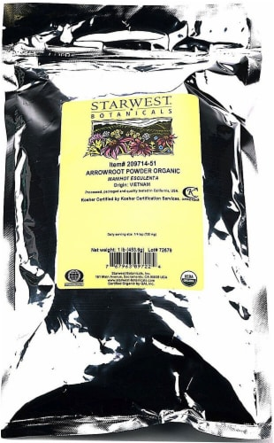 Starwest Botanicals  Arrowroot Powder Organic Perspective: front