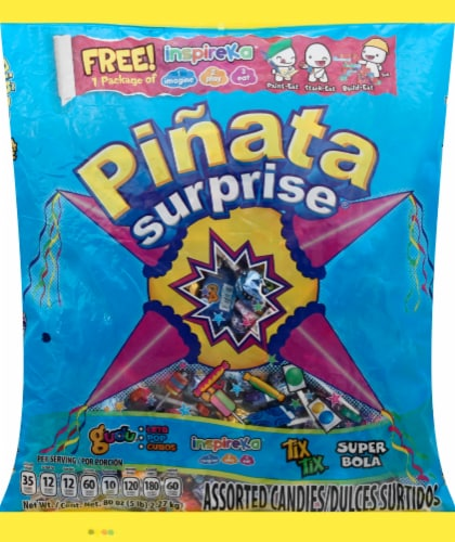 Pinata Surprise Candies Perspective: front