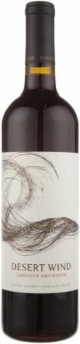 Desert Wind Cabernet Sauvignon Wine Perspective: front