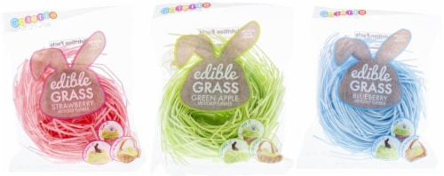 Galerie Assorted Edible Easter Grass Perspective: front