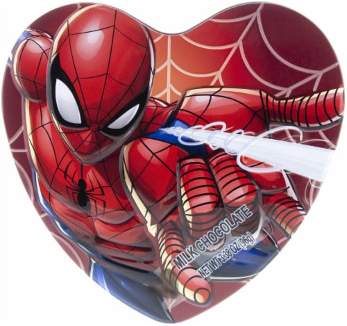 Galerie Spiderman Heart Shaped Tin Perspective: front