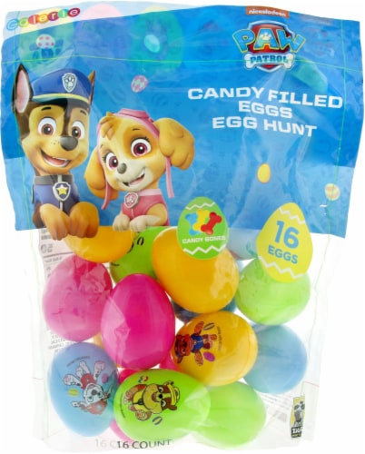 Galerie Paw Patrol Candy Filled Eggs Perspective: front