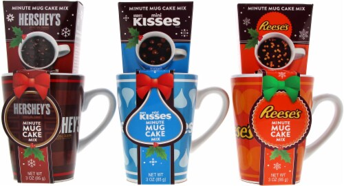 Galerie Hershey's Minute Mug Cake Mix Assorted Perspective: front