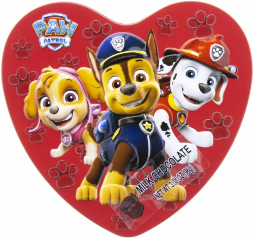 Galerie Paw Patrol Heat Shaped Tin Perspective: front