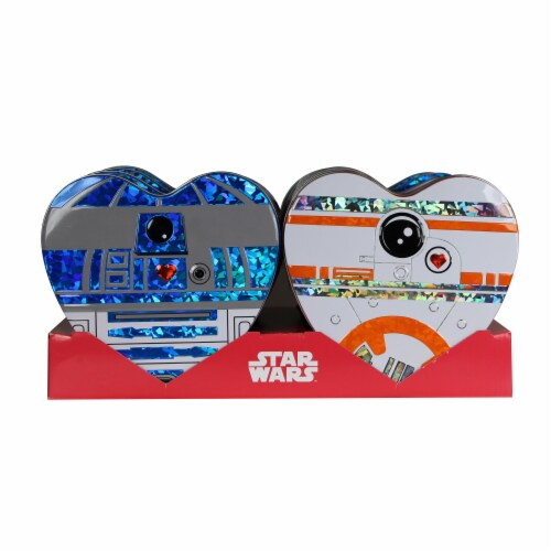 Galerie Star Wars Heart Shaped Tins Perspective: front