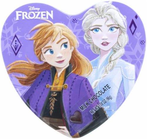 Galerie Frozen 2 Heart Shaped Tin Perspective: front