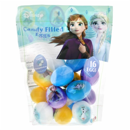 Galerie Disney Frozen Candy Snowflake Eggs Perspective: front