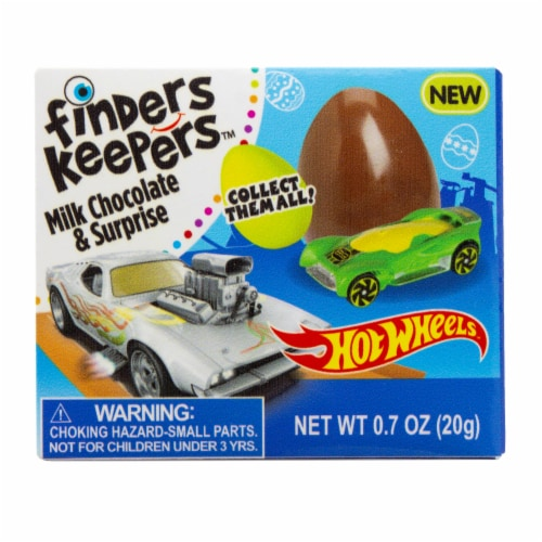 Finder Keeper Count Goods Hot Wheels Chocolate Perspective: front
