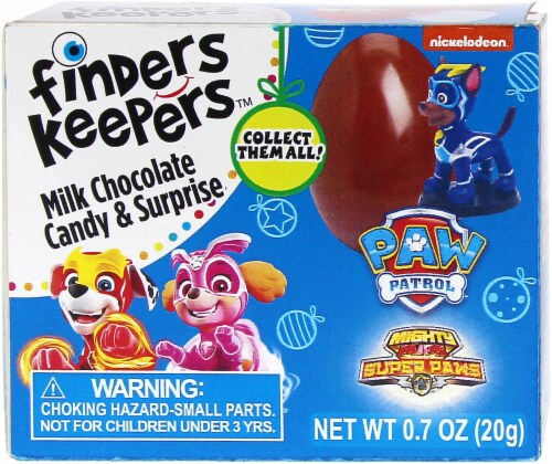 Galerie Finders Keepers Paw Patrol Milk Chocolate Candy & Surprise Perspective: front