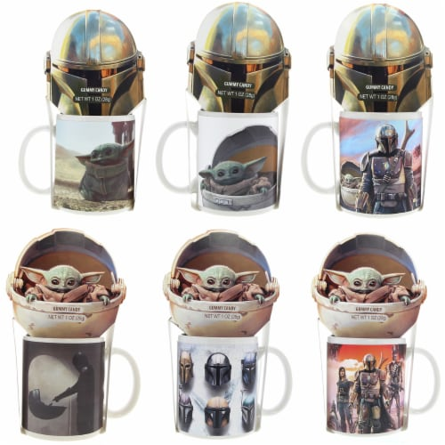 Galerie Star Wars Mandalorian Mug with Millenium Falcon Box with Cocoa Perspective: front