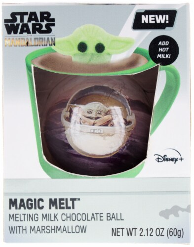 Galerie Star Wars Foil Wrapped Chocolate Sphere with Marshmallow Perspective: front