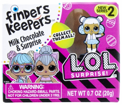 Galerie L.O.L. Surprise Finders Keepers Milk Chocolate Candy & Surprise Perspective: front