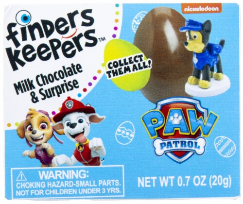 Galerie Paw Patrol Finders Keepers Milk Chocolate Candy & Surprise Perspective: front