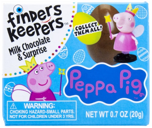 Galerie Peppa Pig Finders Keepers Milk Chocolate Candy & Surprise Perspective: front