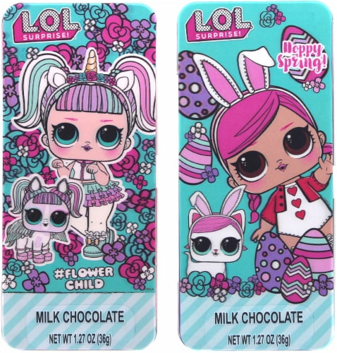 Galerie L.O.L Surprise Milk Chocolate Candy Tin - Assorted Perspective: front