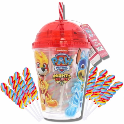 Paw Patrol Tumbler with Mini Lollipops Perspective: front