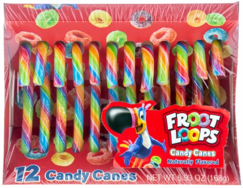 Galerie Froot Loops™ Candy Canes Perspective: front