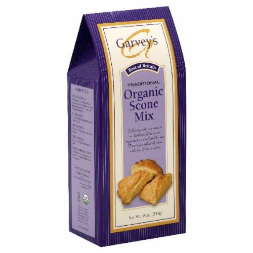 Garvey's Organic Scone Mix Perspective: front