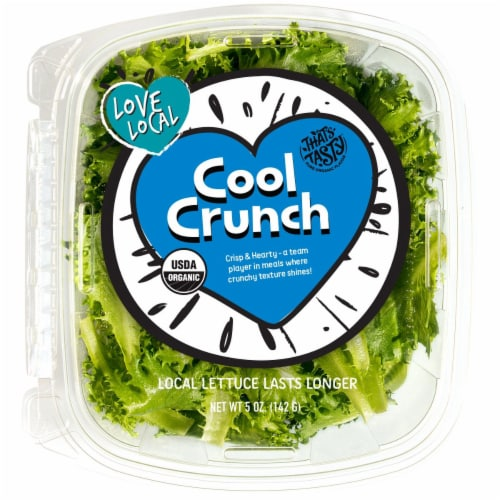 That's Tasty Cool Crunch Lettuce Perspective: front