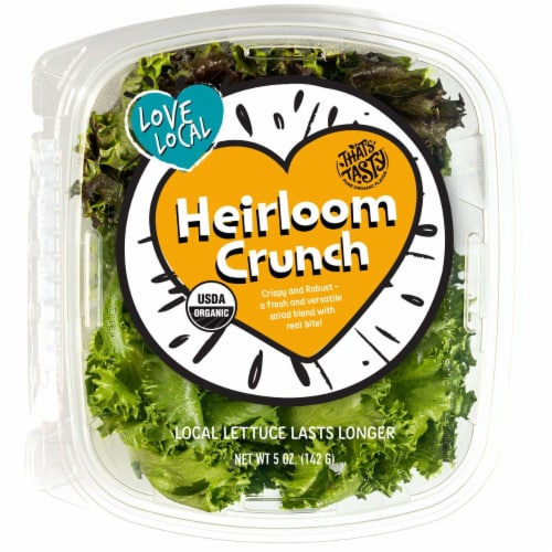 That's Tasty Heirloom Crunch Lettuce Perspective: front