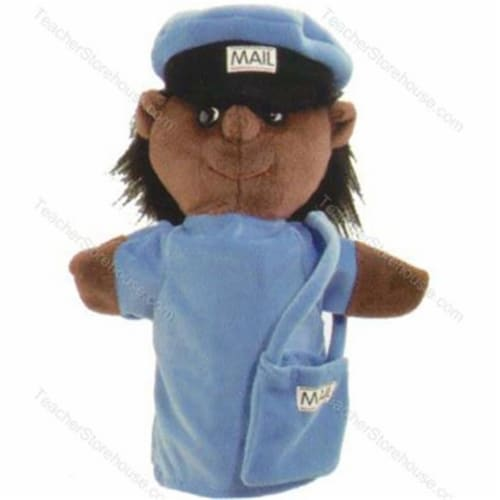 Puppets Machine Washable Postal Worker Perspective: front
