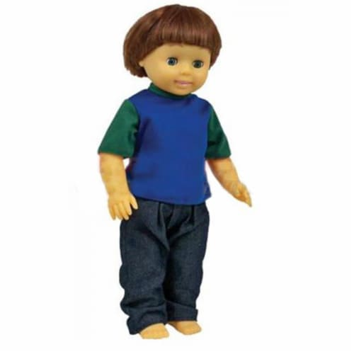 Multicultural Doll, Caucasian Boy  Tom  Doll Perspective: front