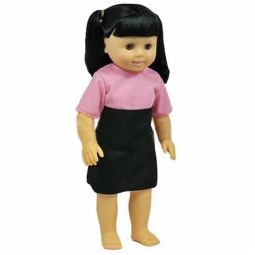 Get Ready 636 Asian Girl Kids Doll Perspective: front