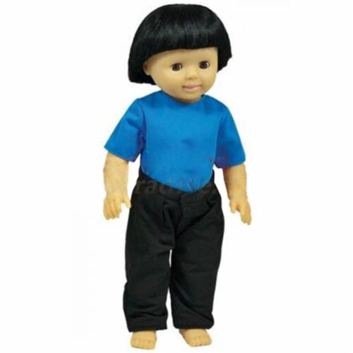 Get Ready 637 Asian Boy Kids Doll Perspective: front