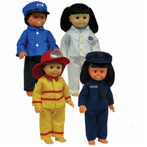 Get Ready Kids Mtb1321 Career Doll Clothes Perspective: front