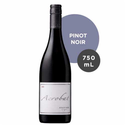 Acrobat Oregon Pinot Noir Red Wine Perspective: front